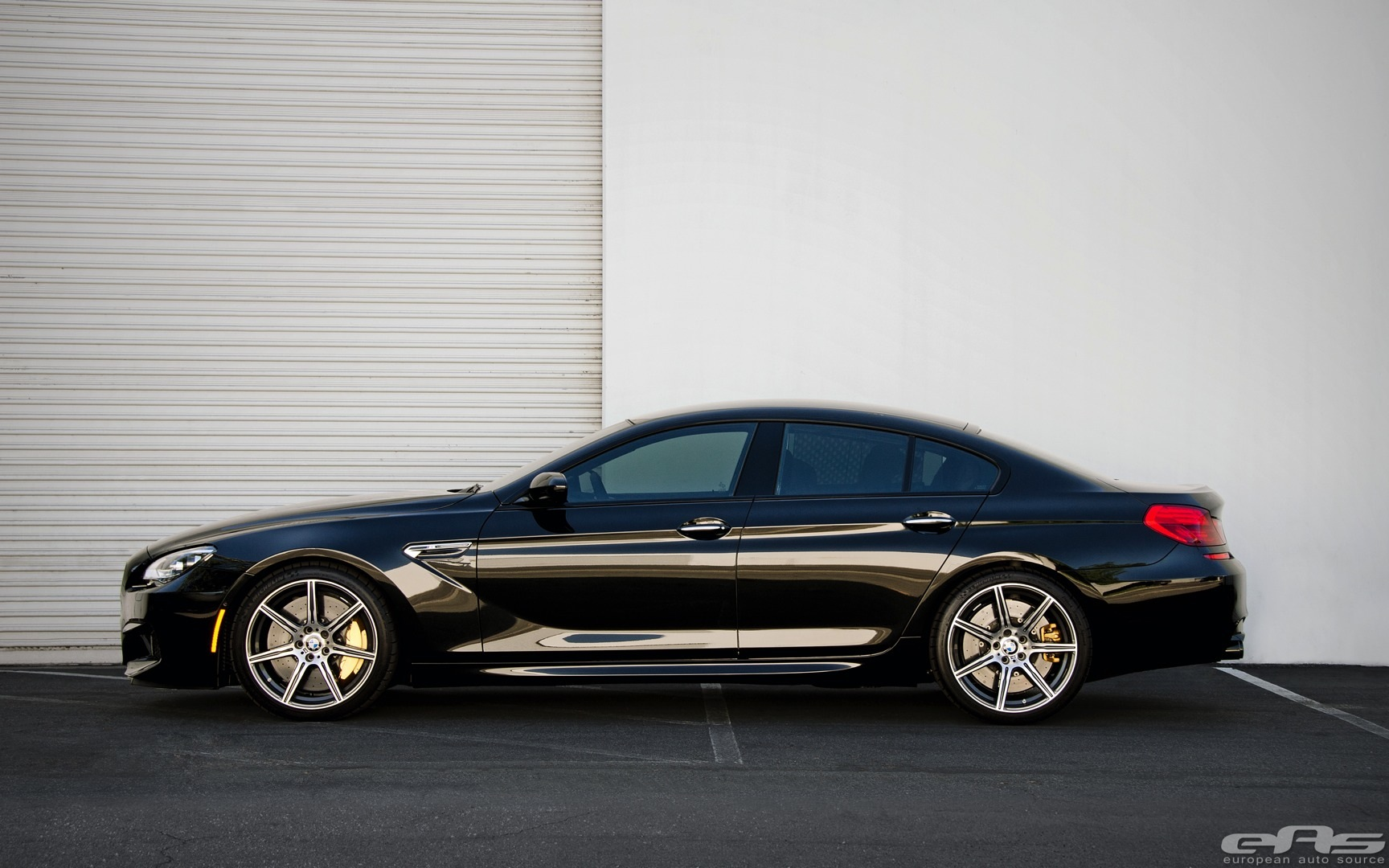Competition Package Bmw M6 Gran Coupe Goes Completely Black Autoevolution
