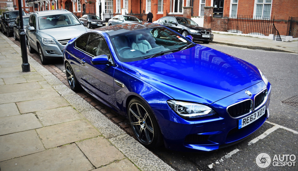 We Buy Used Cars >> Competition Package BMW M6 Spotted in London - autoevolution