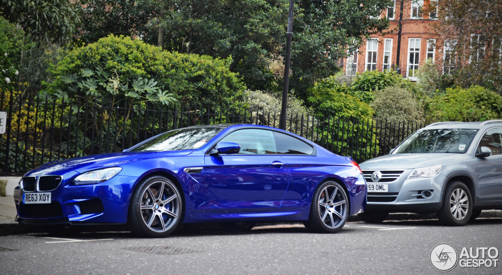 Competition Package Bmw M6 Spotted In London Autoevolution