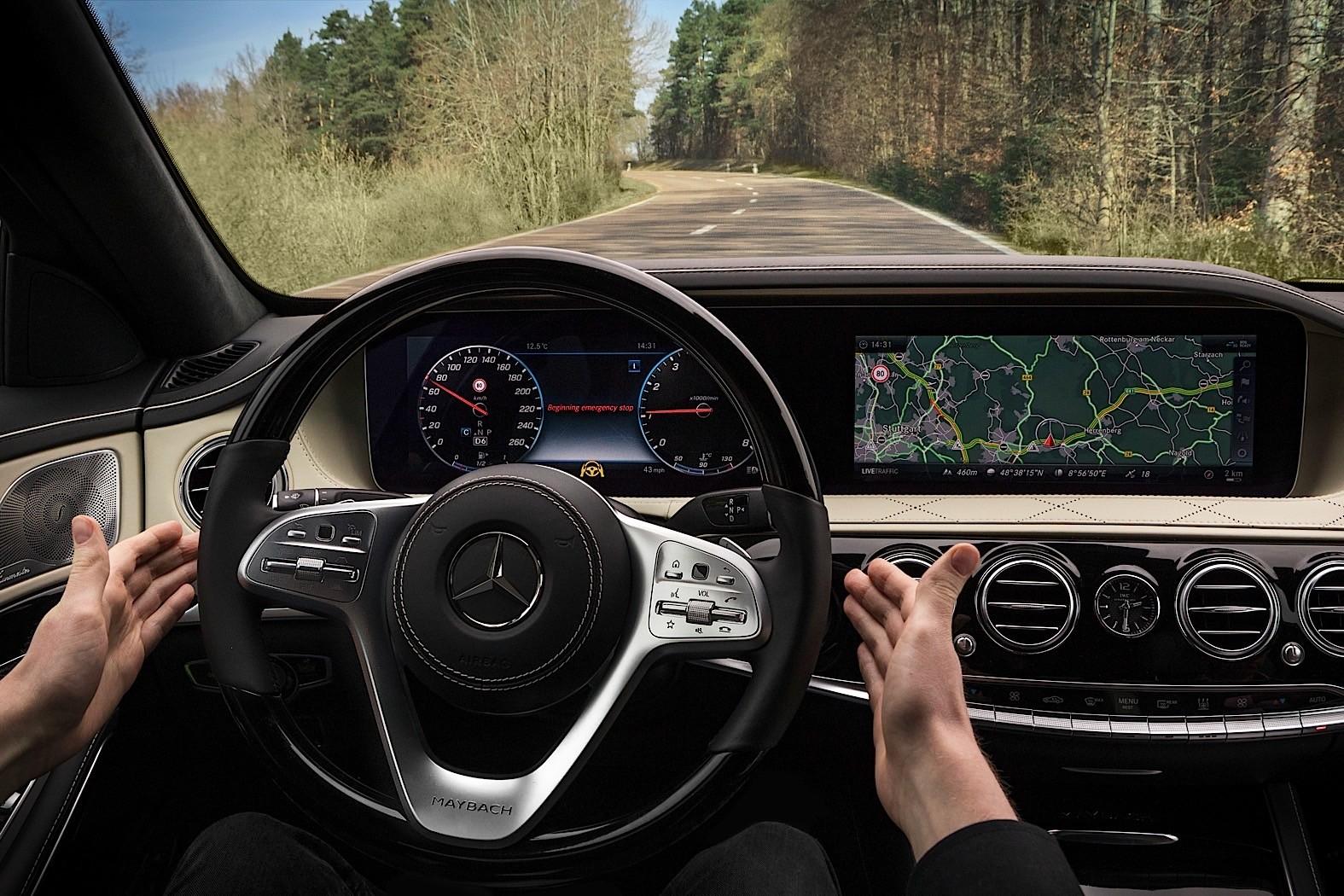 2018 mercedes benz maybach s 560 sedan. perfect maybach 2018 mercedesbenz sclass w222 facelift inside mercedes benz maybach s 560 sedan