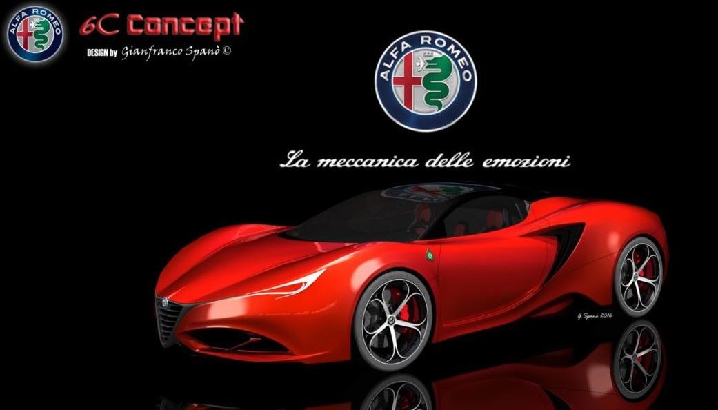 Concept Car Showcase Alfa Romeo C By Gianfranco Spano