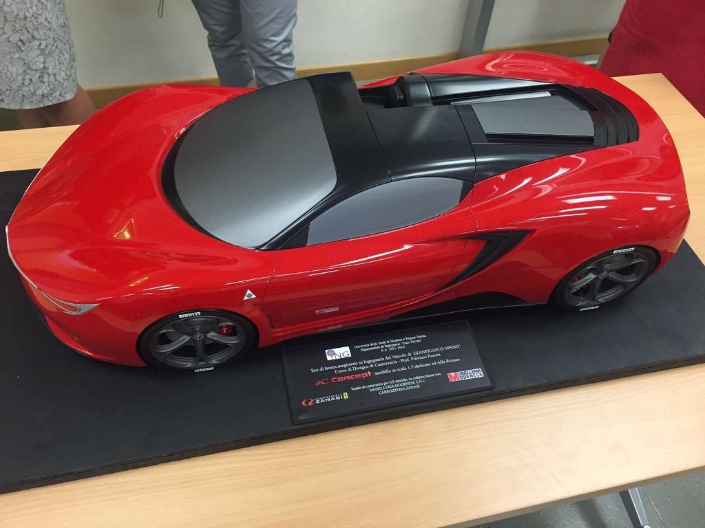 concept romeo alfa 6c showcase gianfranco spano autoevolution
