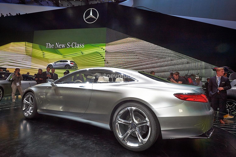 Mercedes Benz Concept S Class Coupe Is Gorgeous