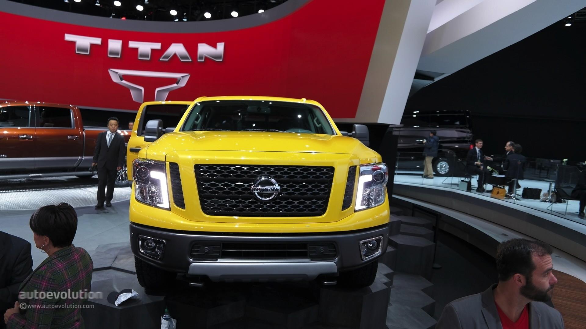 2016 nissan titan xd cummins diesel live photo 2015 detroit auto show