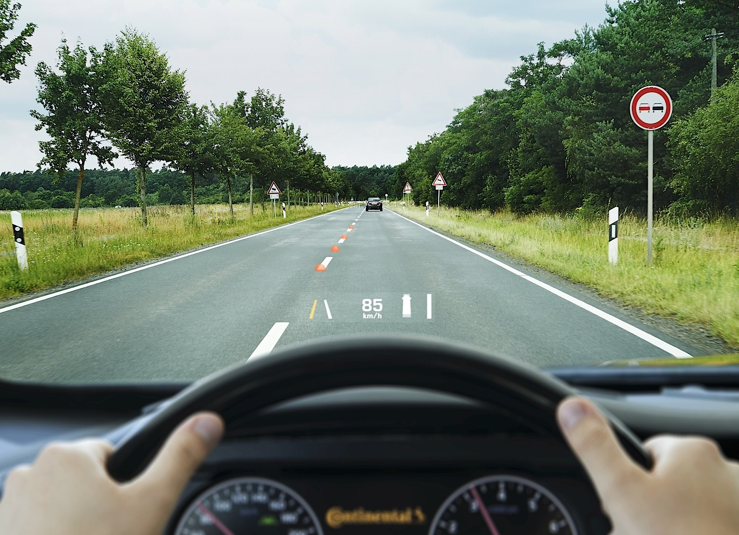 Nissan Los Angeles >> Continental Shows Its Augmented Reality Head-up Display ...