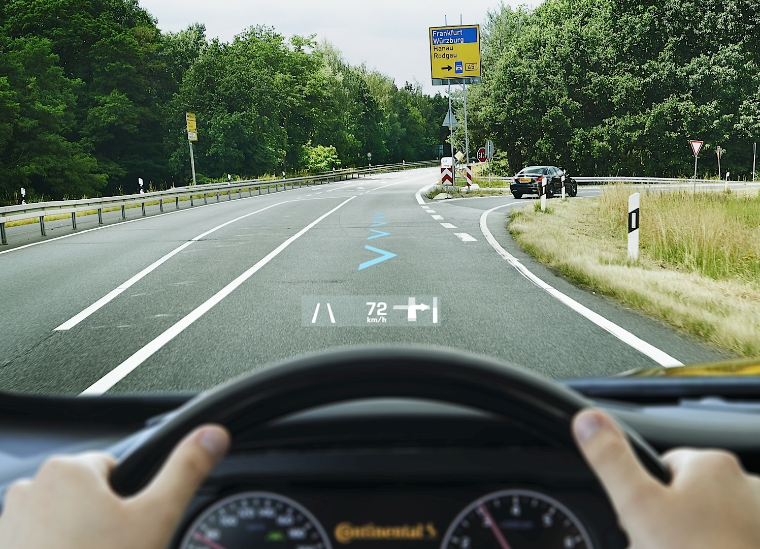 370z Nismo Specs >> Continental Shows Its Augmented Reality Head-up Display ...