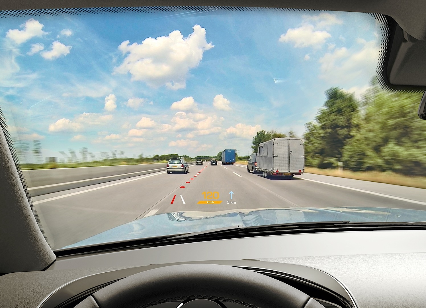 Continental Shows Its Augmented Reality Head-up Display for 2017 - autoevolution