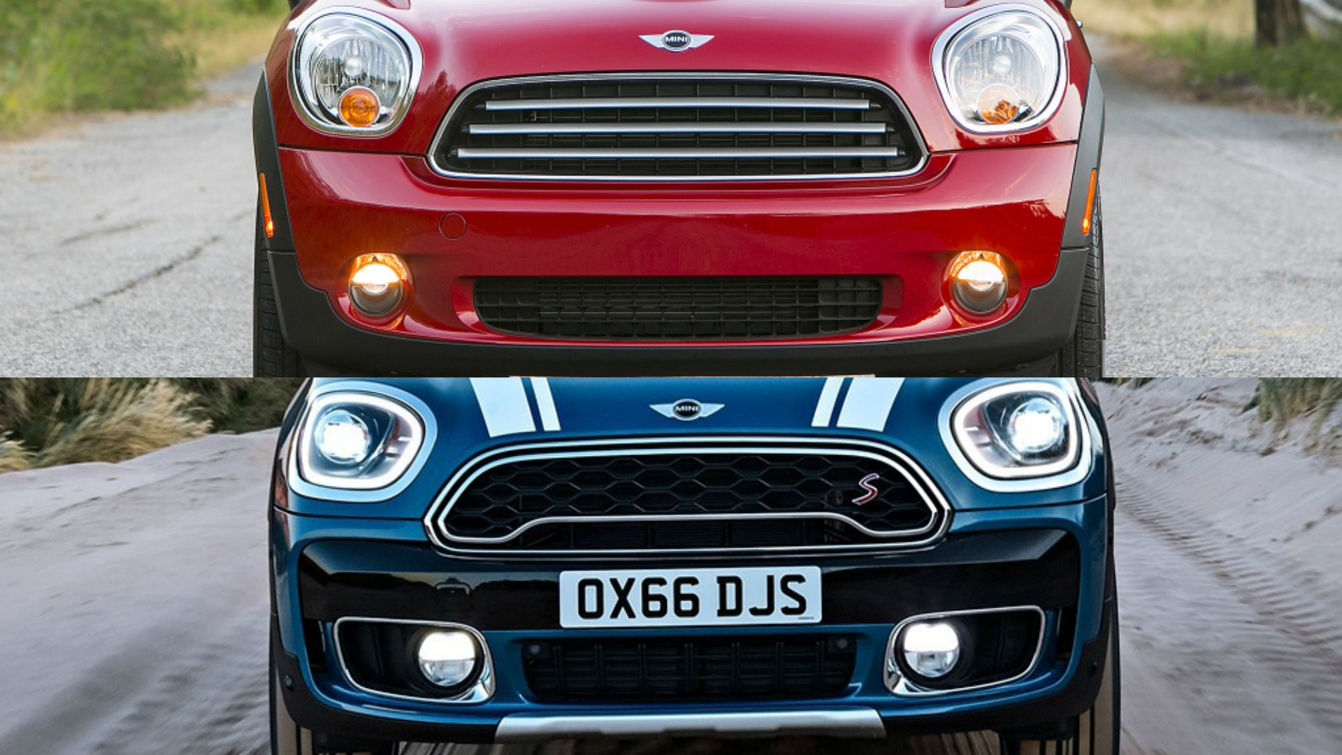 2017 Mini Countryman Vs 2010 Model Main Differences Between The Two