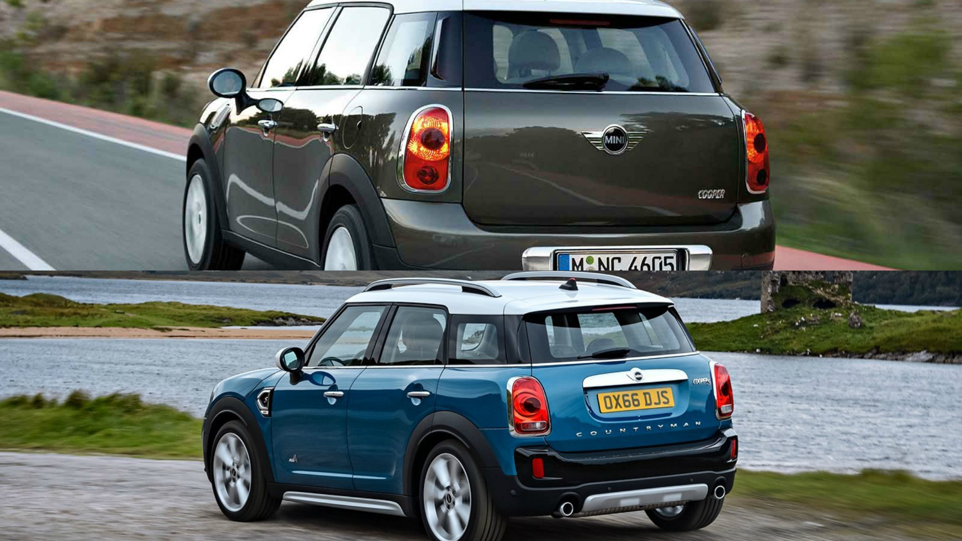 Old Countryman In Various Versions Top Versus New Bottom