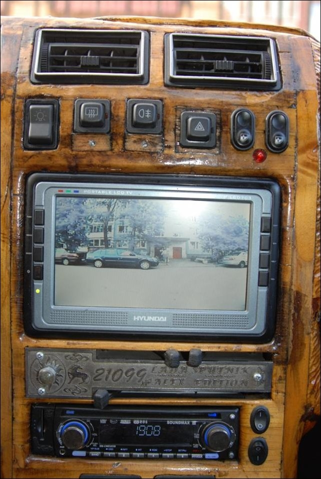 Cool Car Interior Made From Wood - Photo Gallery - autoevolution