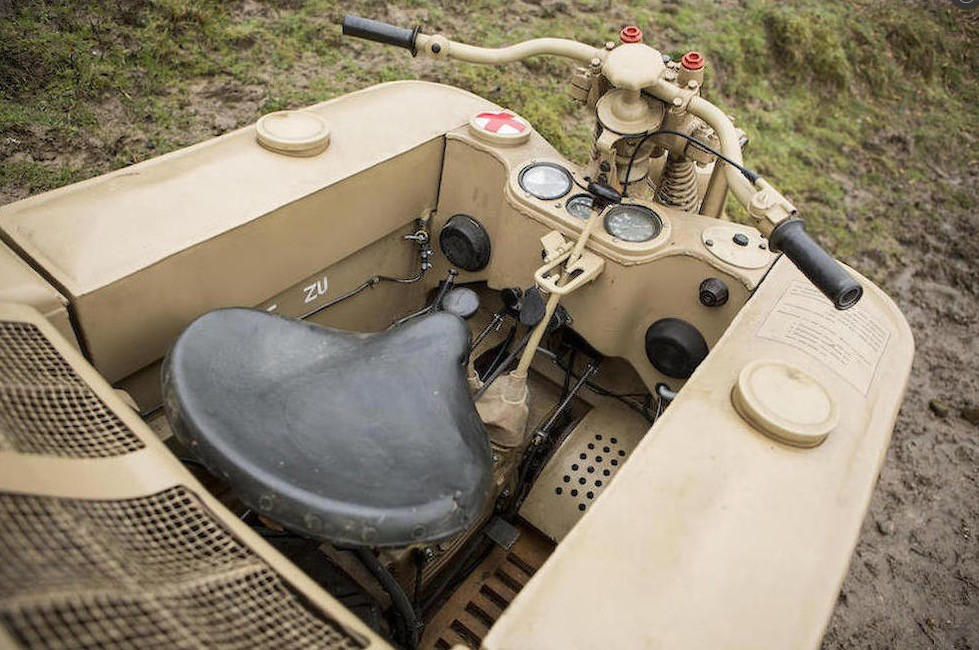 BMW M4 Engine >> Cool WW2 German Tracked Motorcycle Going Under The Hammer ...