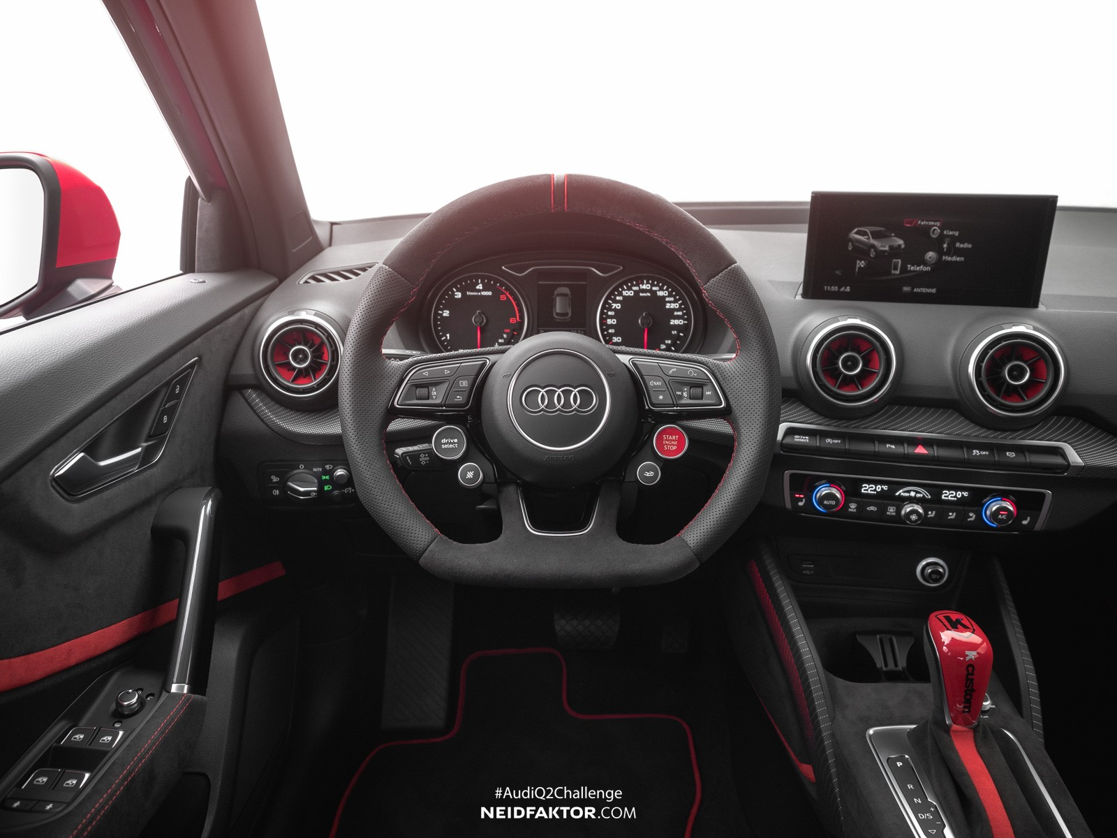Coolest Audi Q2 Interior Ever Comes From Neidfaktor ...