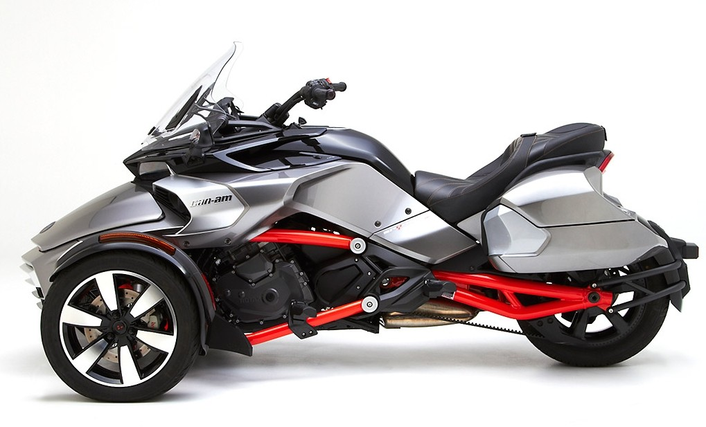 Can Am Trike >> Corbin Shows Can-Am Spyder F3 Saddlebags, They're Bigger than the OEM Ones - autoevolution