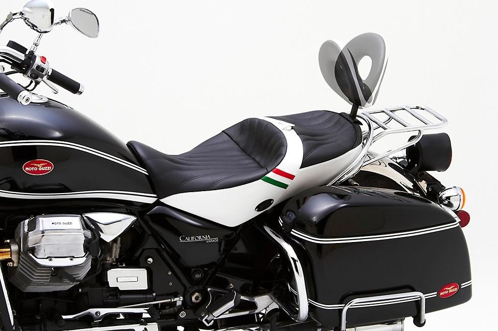 Corbin Shows Dual Touring Saddle For Moto Guzzi California