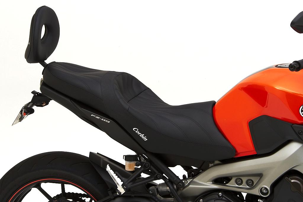 Corbin Shows Gunfighter Amp Lady Seats For 2014 Yamaha Fz 09