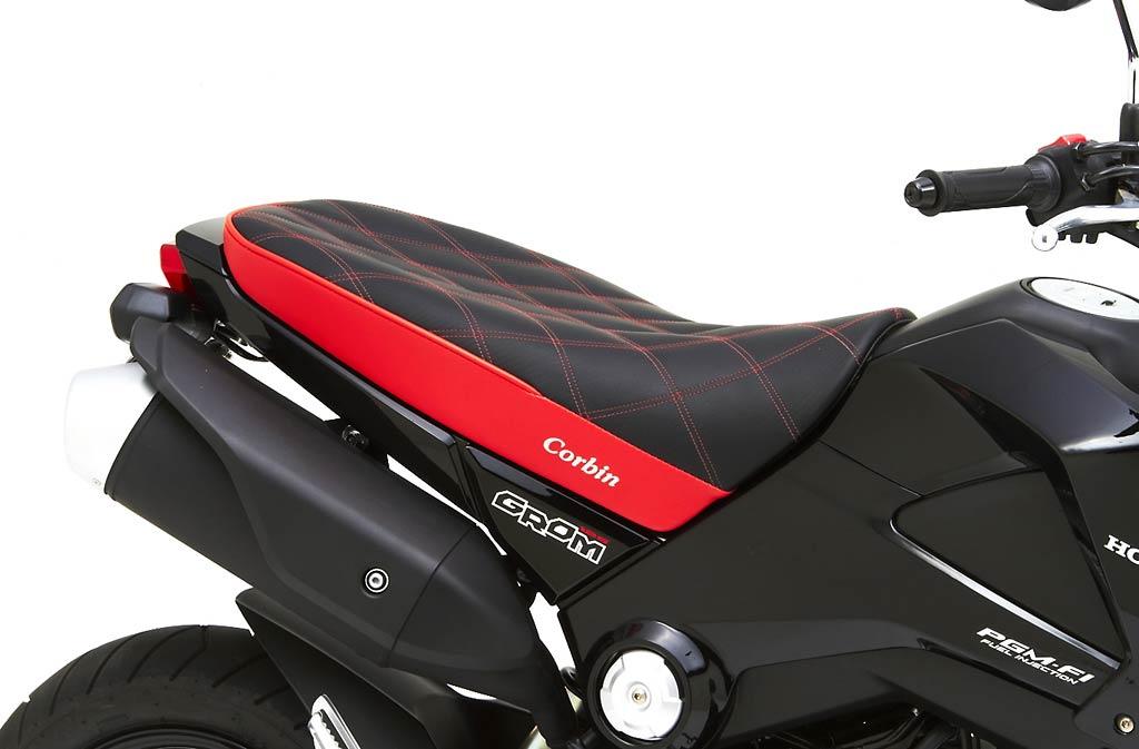 Corbin Surfaces New Seats For Honda Grom