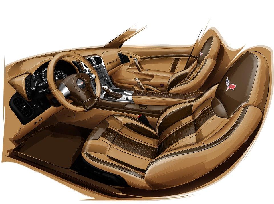 C6 Corvette Custom Interior