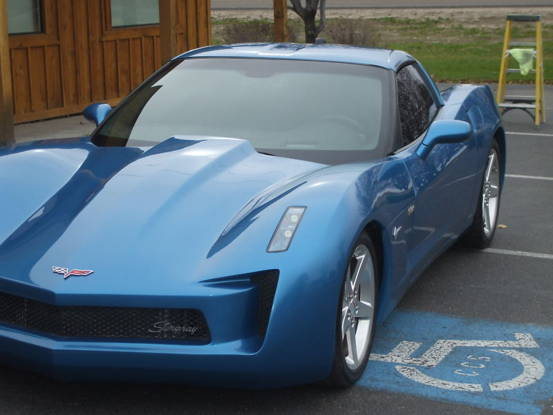 Corvette Stingray Concept Replica From Z And M Customs
