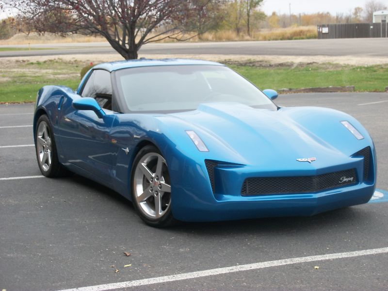 Corvette Stingray Concept Replica From Z And M Customs Autoevolution