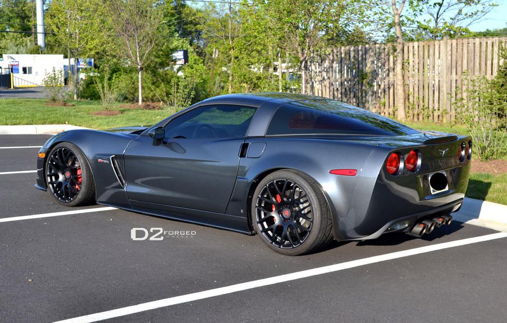2008 chevrolet corvette chevy pictures photos gallery - Corvette Z06 On D2forged Wheels Autoevolution