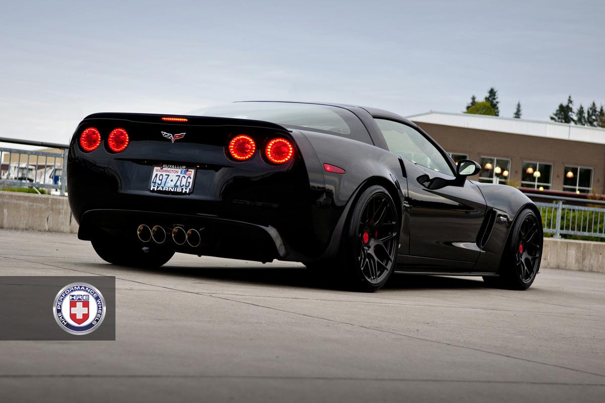 Corvette Z06 On Hre Wheels