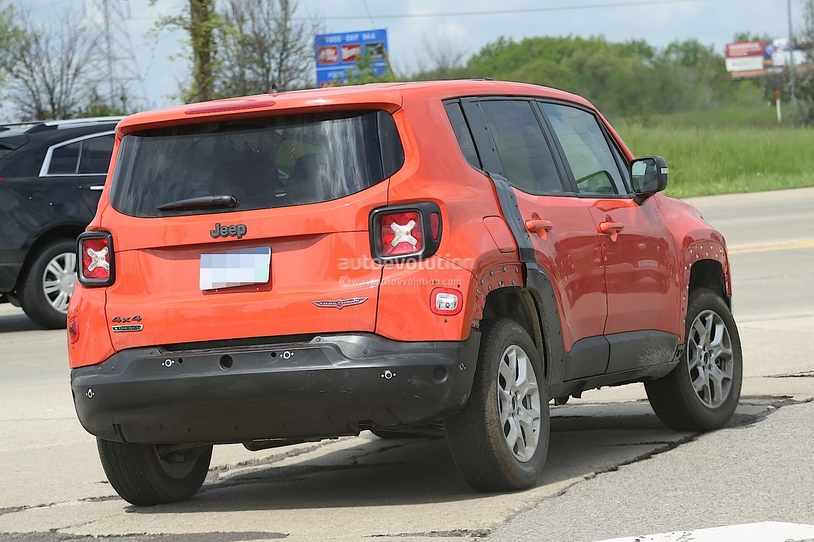 2017 jeep compass test mule