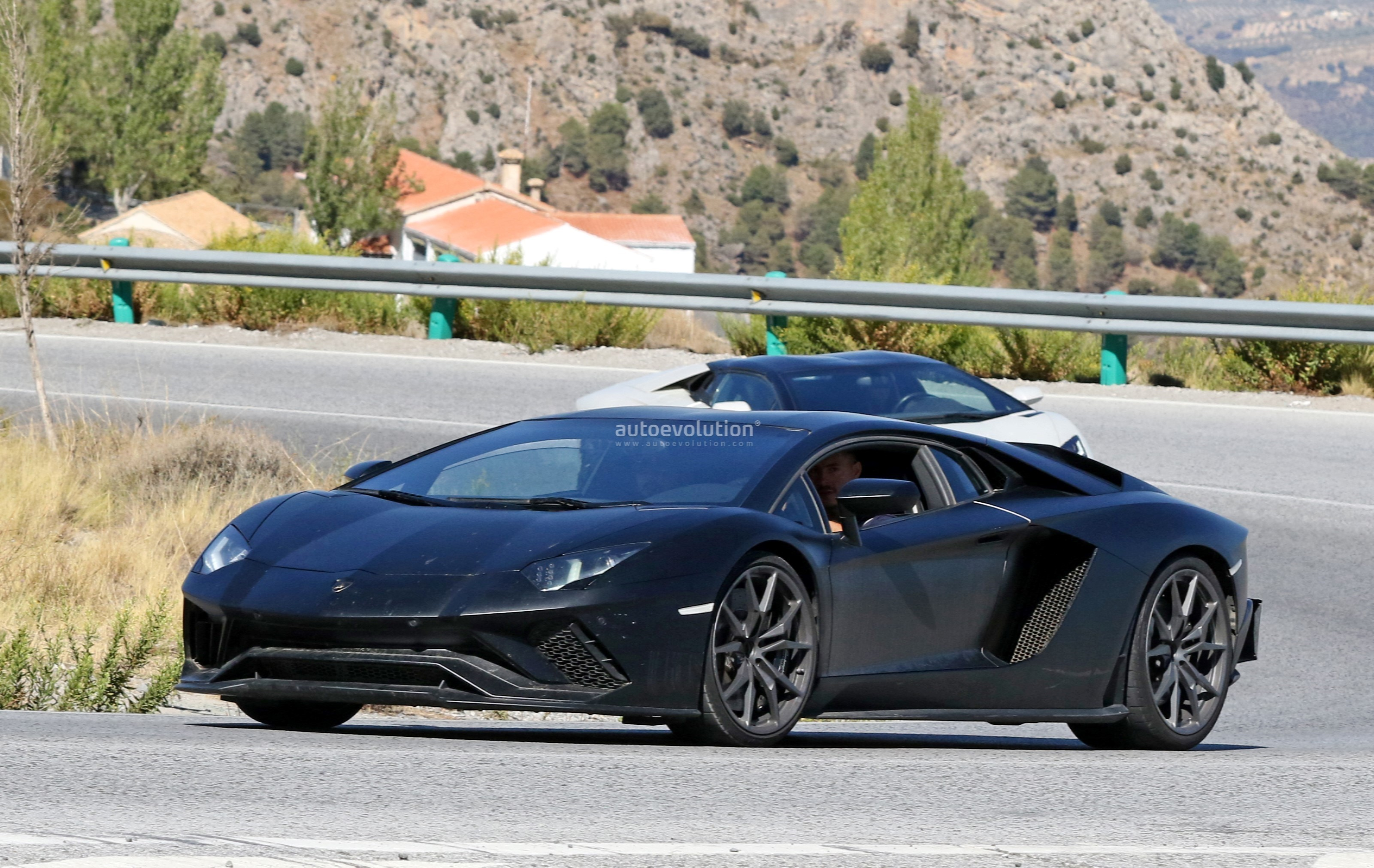 could this be the 2019 lamborghini aventador svj? - autoevolution