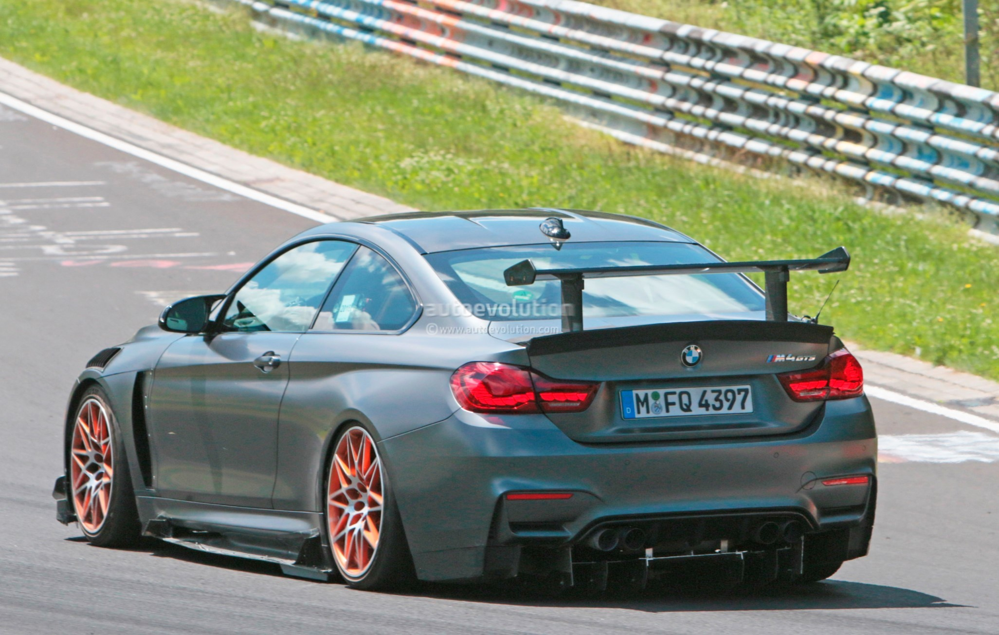 could this prototype be the 2019 bmw m4 csl