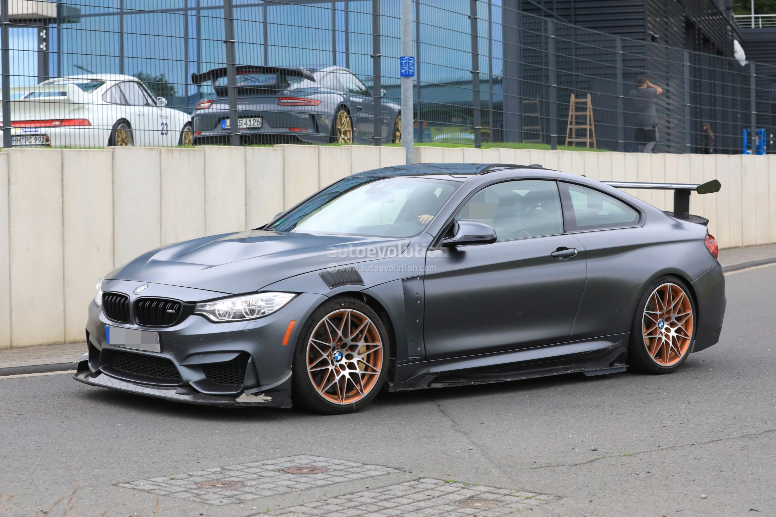 Could This Prototype Be The 2019 Bmw M4 Csl Autoevolution