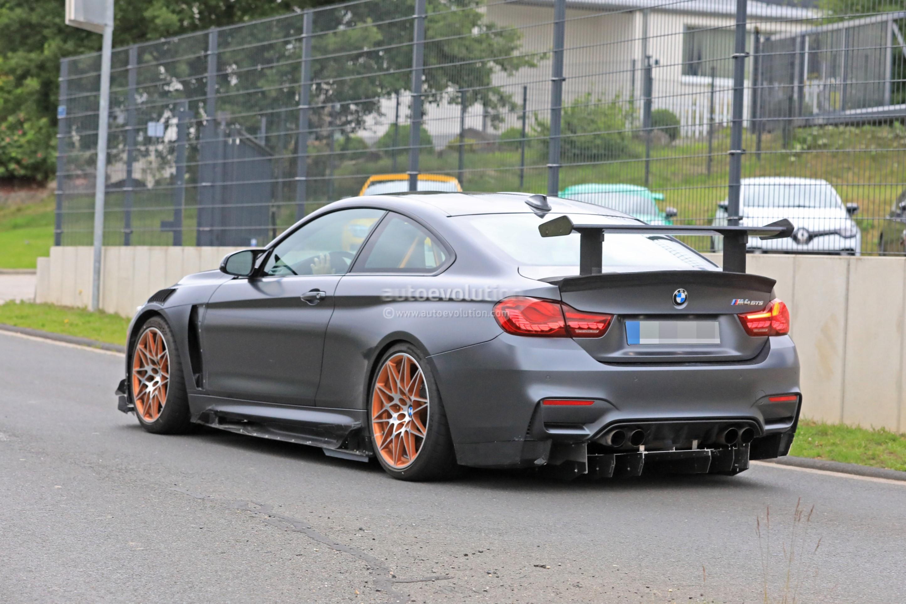 2019 Bmw M4 Cs >> Could This Prototype Be the 2019 BMW M4 CSL? - autoevolution