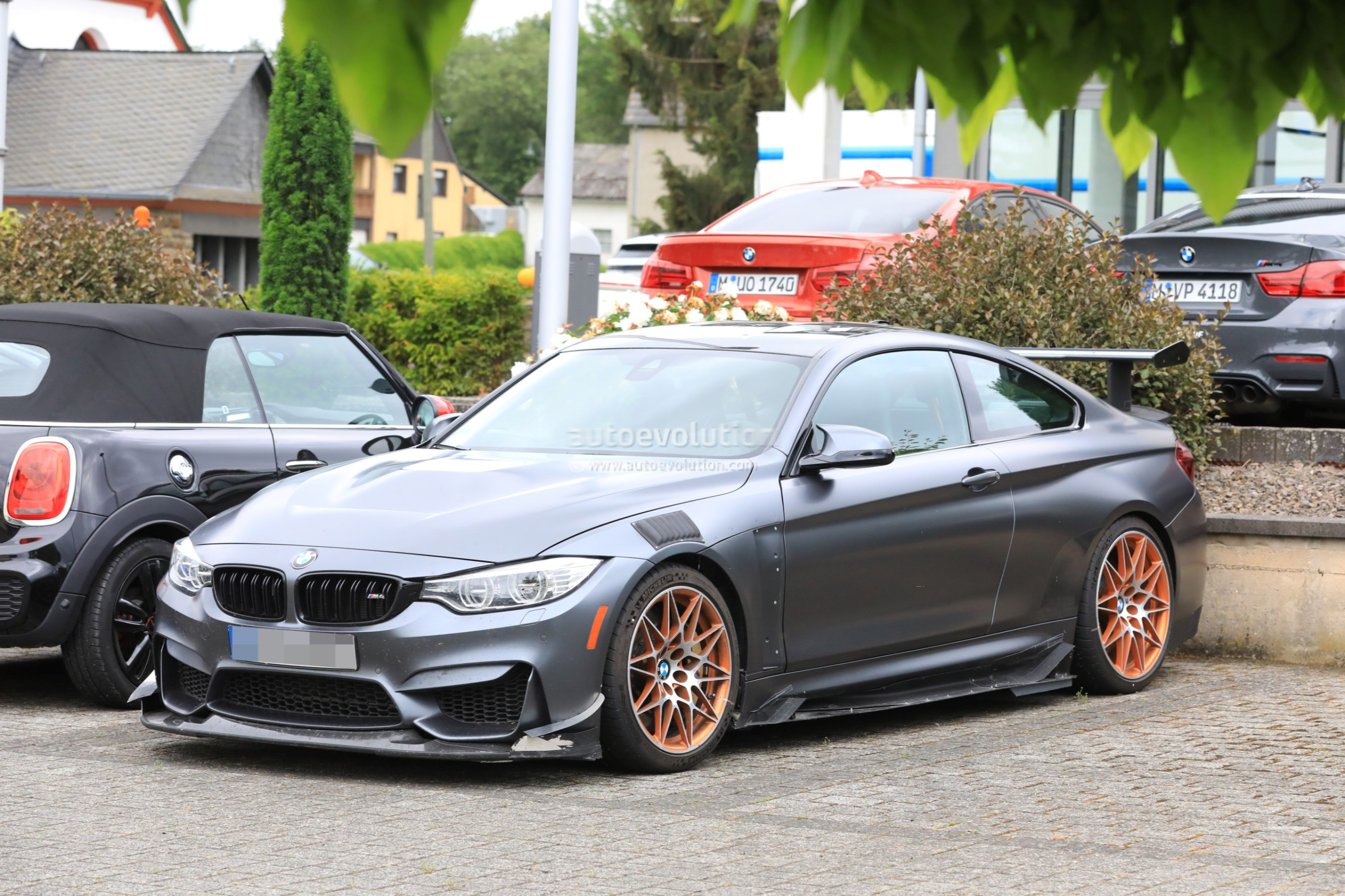 Could This Prototype Be the 2019 BMW M4 CSL? - autoevolution