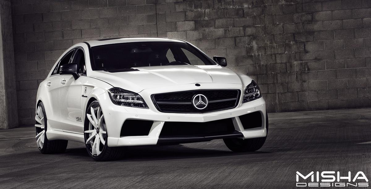 couture customs mercedes cls63 amg by misha designs - photo gallery