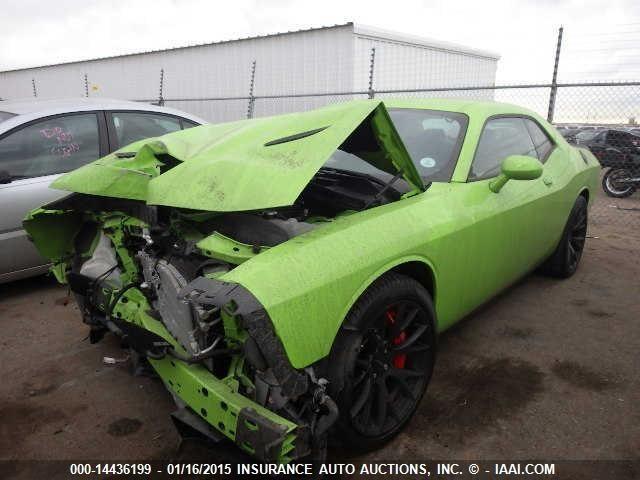 Crashed 2015 Dodge Challenger SRT Hellcat Heading to IAAI ...