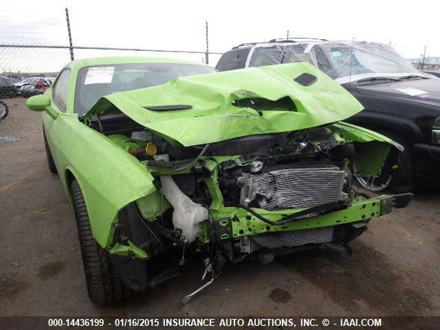 Crashed 2015 Dodge Challenger Srt Hellcat Heading To Iaai Auction