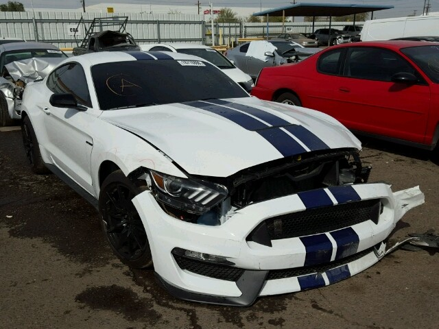 Crashed Ford Mustang Shelby GT350 Listed on Copart ...