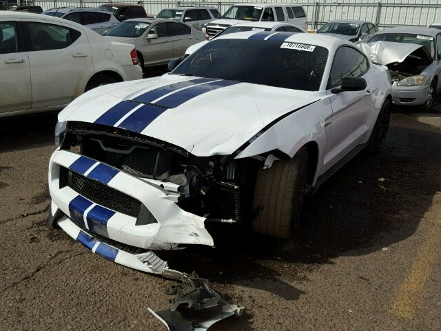 Crashed Ford Mustang Shelby Gt350 Listed On Copart
