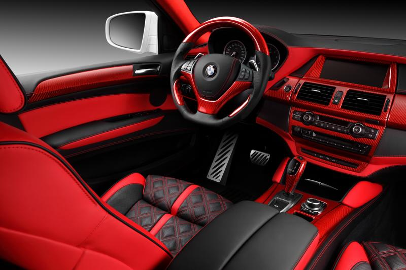 Crazy interior for bmw x6 from topcar autoevolution for Auto interieur tuning