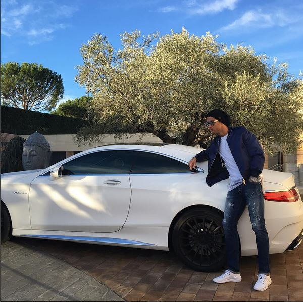 Cristiano ronaldo currently drives a range rover sport svr and s65 amg coupe autoevolution - Coupe a cristiano ronaldo ...