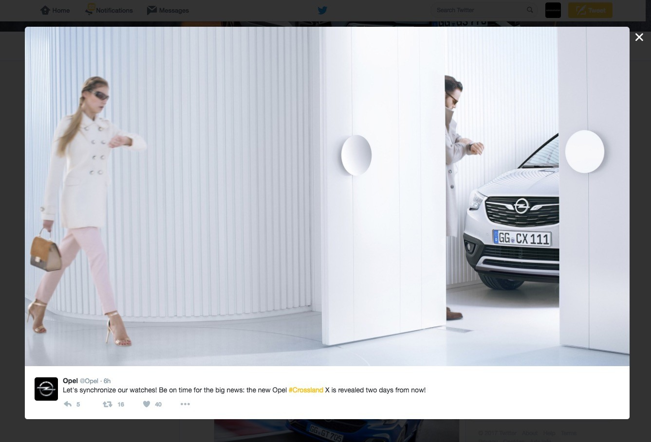 2017 opel crossland x plays hide and seek in latest teaser. Black Bedroom Furniture Sets. Home Design Ideas
