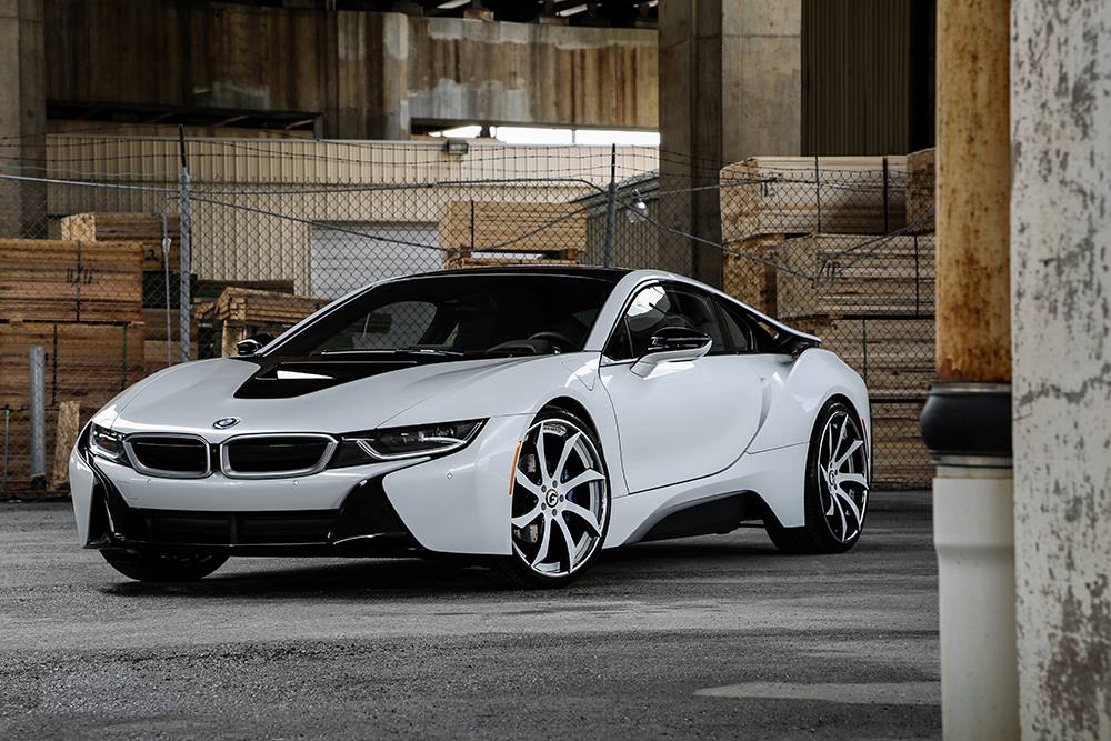 2015 Mustang Wheels >> Crystal White BMW i8 Gets Forgiato Wheels, Turns into ...