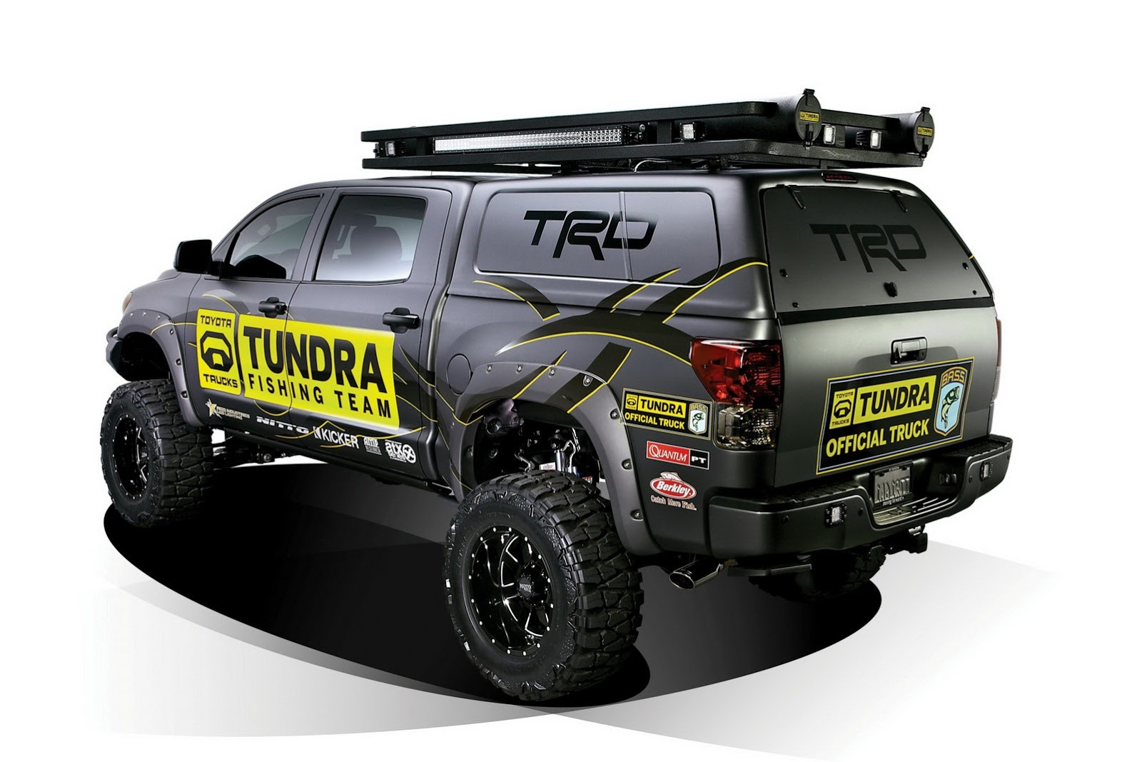 tundra trd concept fishing sema toyota ultimate cs motorsport brings custom myers pro autoevolution sport sports britt engine