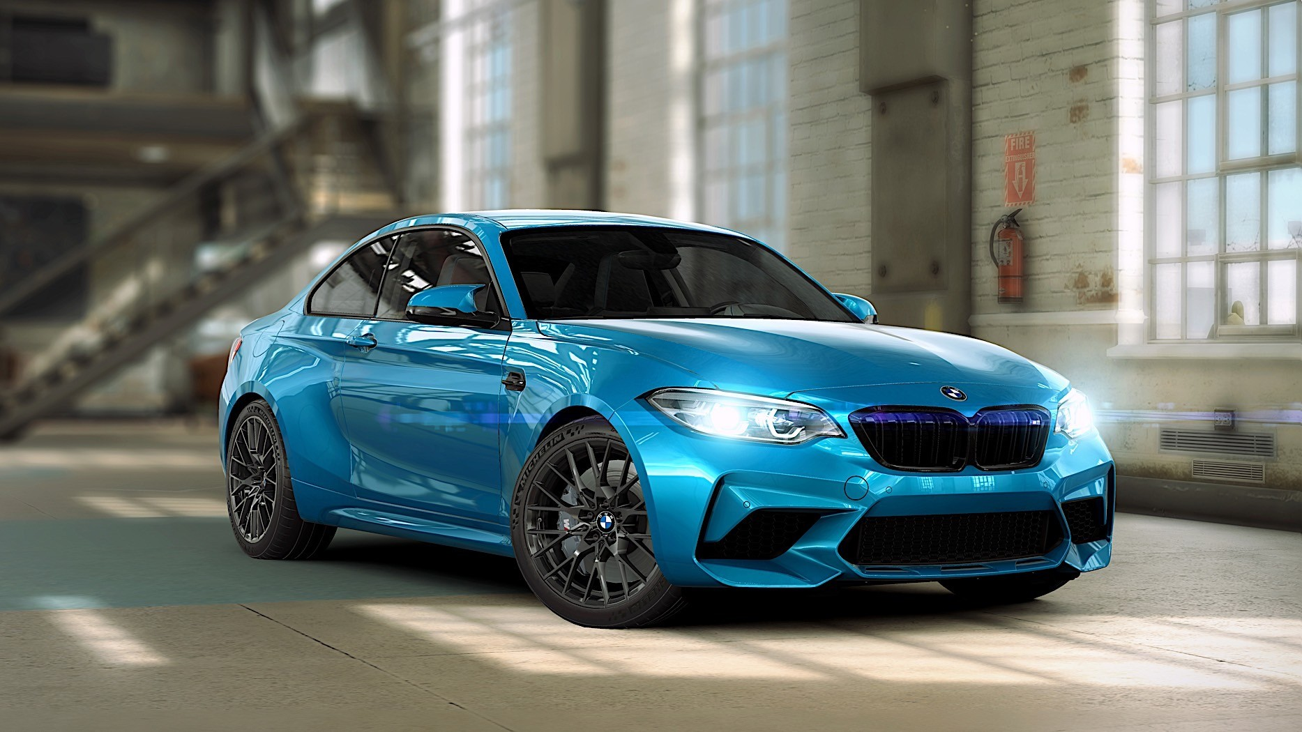 csr racing 2 mobile game now features the bmw m2 competition autoevolution. Black Bedroom Furniture Sets. Home Design Ideas