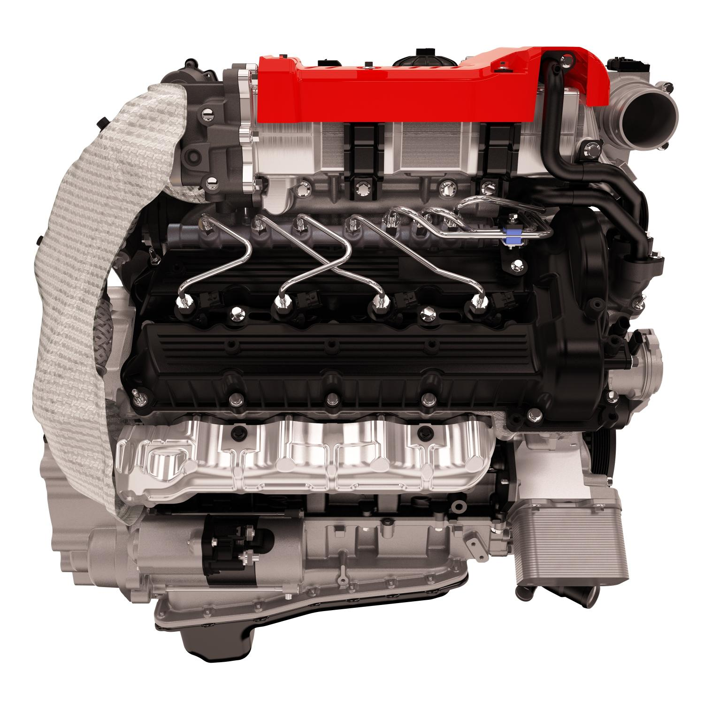Cummins Diesel Engine of 2016 Nissan Titan XD is a