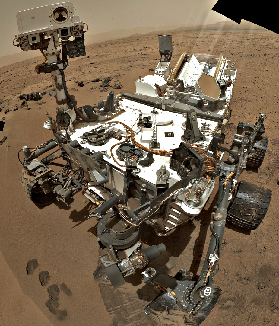How Does Curiosity Take A Selfie  Martian Year Report