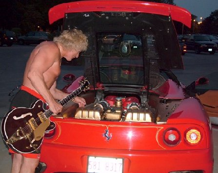 Junk Cars Chicago >> Curly Blonde Ferrari Driver for Hire - autoevolution