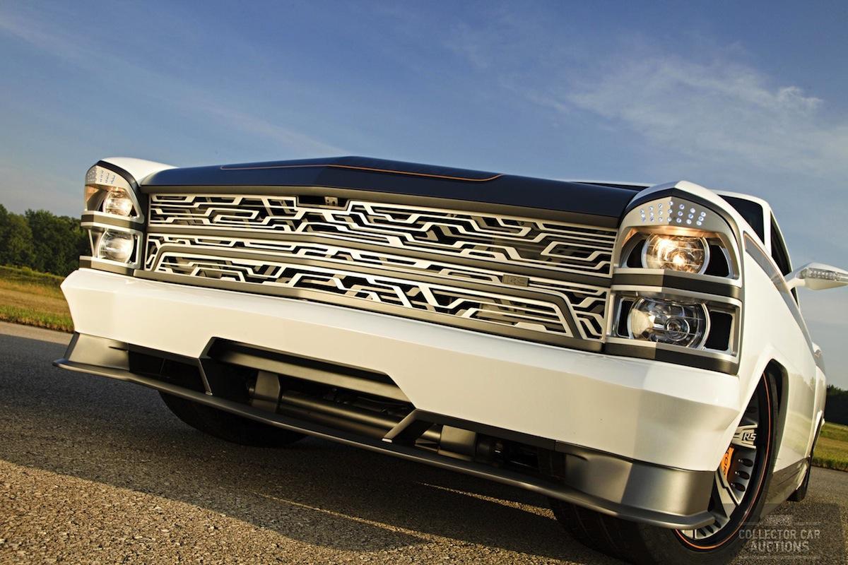 Chevrolet Camaro Bodykit >> Custom 1967 Chevrolet Nova Fetches $300,000 at Auction - autoevolution