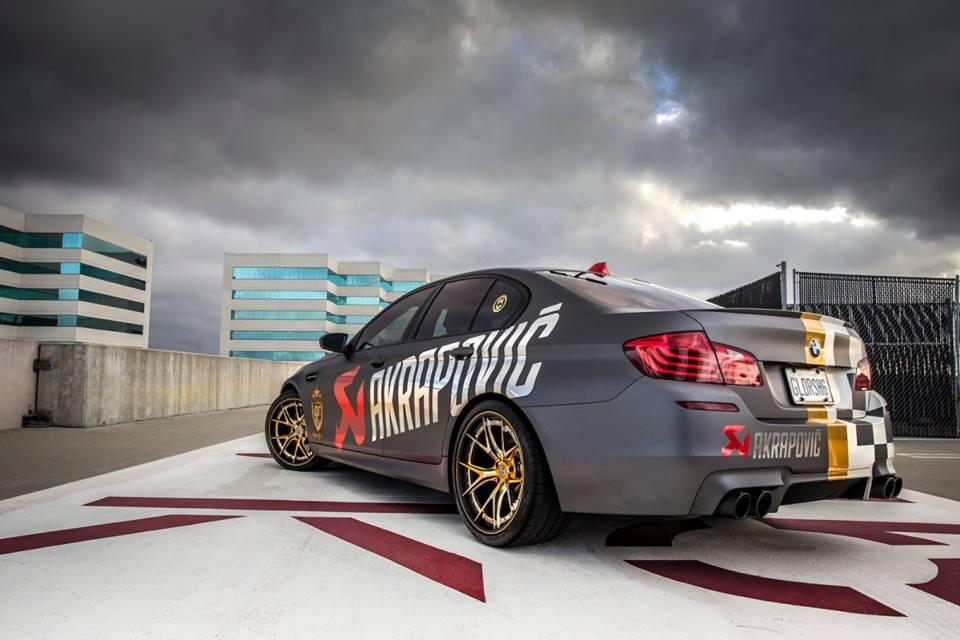 Q50 Launch Control >> Custom Akrapovic BMW M5 Is Ready for the 2014 goldRush Rally - autoevolution