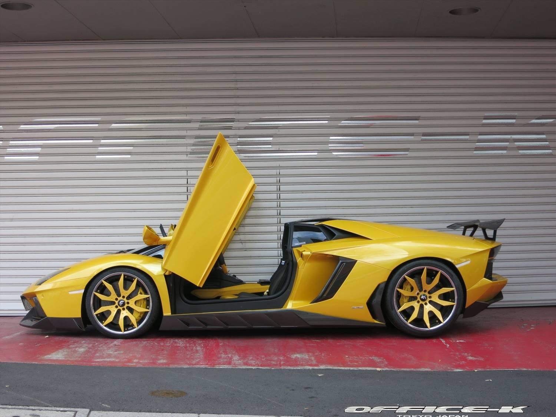 Image Result For Yellow Lamborghini Aventador Roadster