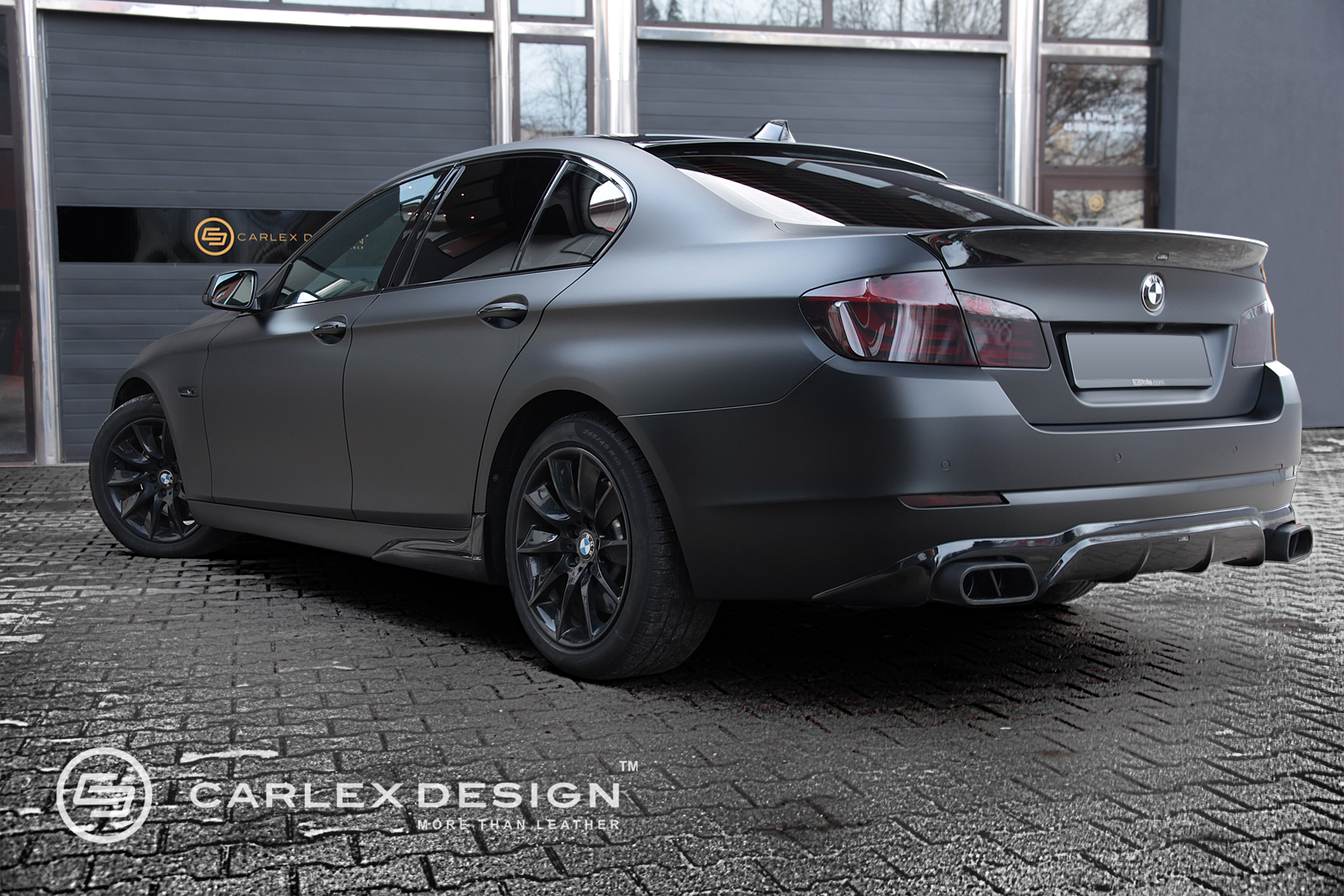 Custom Bmw 5 Series Quot The Ripper Quot By Carlex Wrapstyle