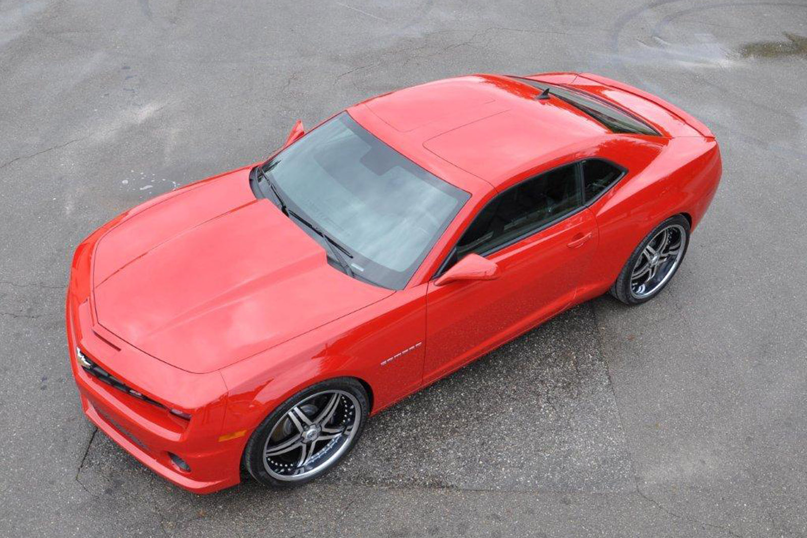 Custom Built T Top Chevrolet Camaro For 6 500 Autoevolution